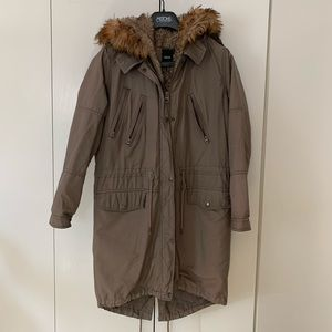 ASOS parka with removable lining